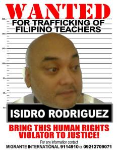 Convicted trafficker Isidro Rodriguez sighted in Spain; Arrest and extradite Rodriguez now, victims urge PH gov't