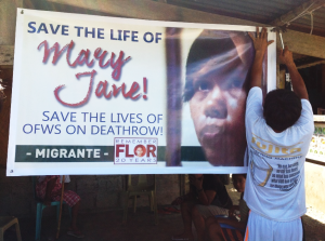 Mary Jane's home in Cabanatuan serves as the center for the clamor to save her life.