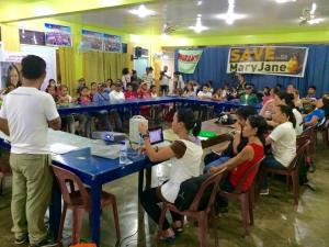 Cabanatuan City - Last June 29, community and provincial leaders, representatives of local government units and church groups and supporters joined the Veloso family in a day-long gathering to mark the 2nd month of Mary Jane's temporary reprieve.